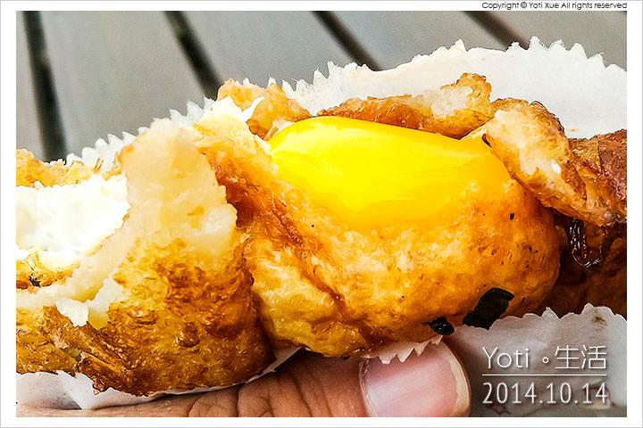 141014 花蓮市區-原路口炸蛋蔥油餅(黃色發財車) (10)