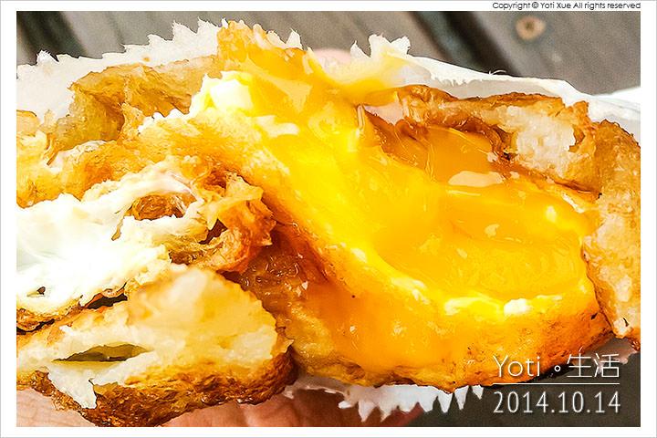 141014 花蓮市區-原路口炸蛋蔥油餅(黃色發財車) (12)