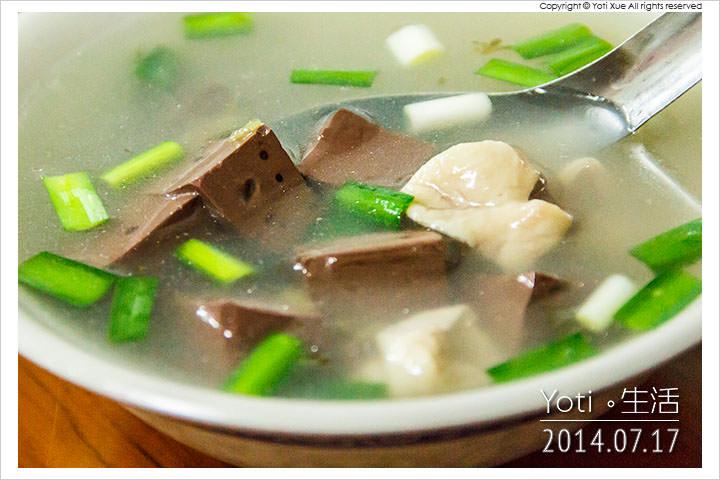 140717 花蓮吉安-春龍小吃(慈惠堂旁豬血湯米粉炒) (13)