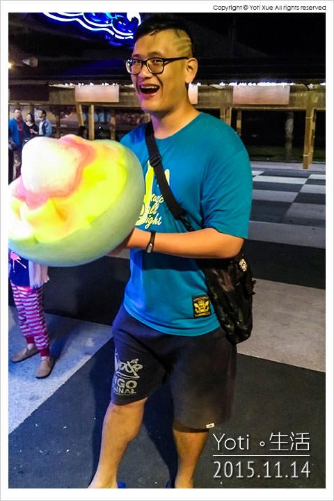 151114 花蓮東大門夜市-各省一條街 花蓮造型花式棉花糖 (06)