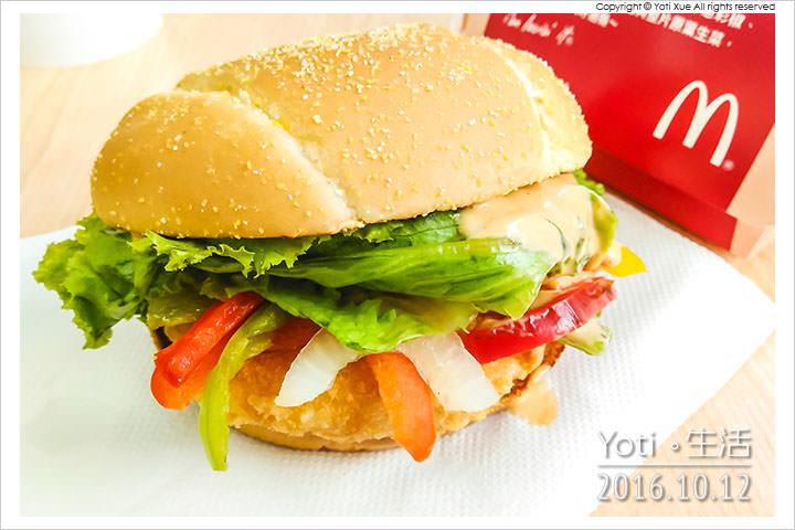 161012 麥當勞-西班牙辣味鮮蝦堡 (04)