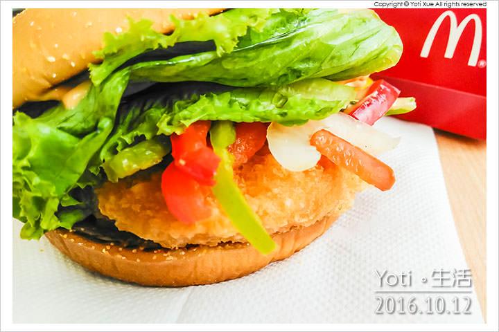 161012 麥當勞-西班牙辣味鮮蝦堡 (05)