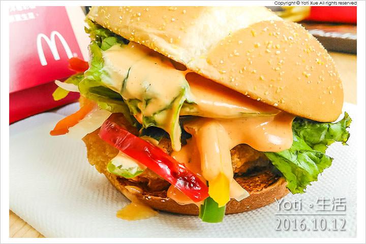 161012 麥當勞-西班牙辣味鮮蝦堡 (06)