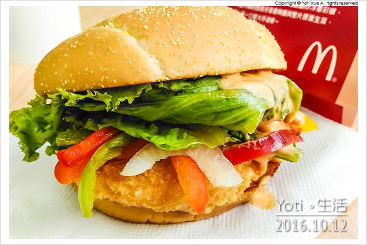 161012 麥當勞-西班牙辣味鮮蝦堡 (07)