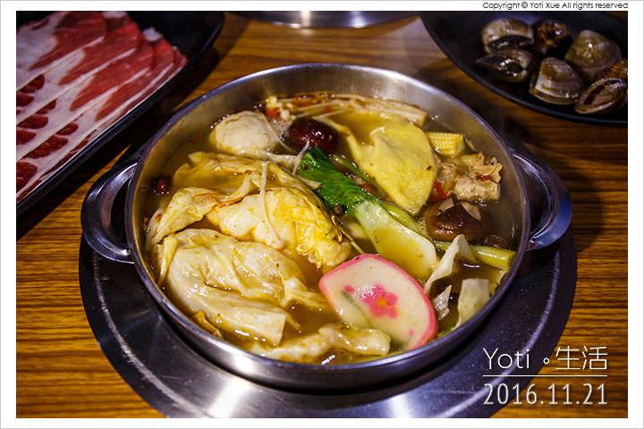 161121 花蓮市區-東京鍋物精緻涮涮鍋 (12)