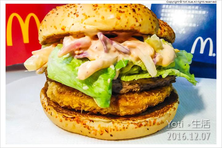 161207 麥當勞-明太子海陸雙星堡 (08)
