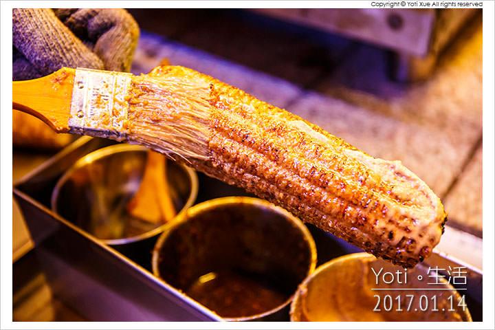 花蓮東大門夜市 原住民一條街 百里香烤玉米
