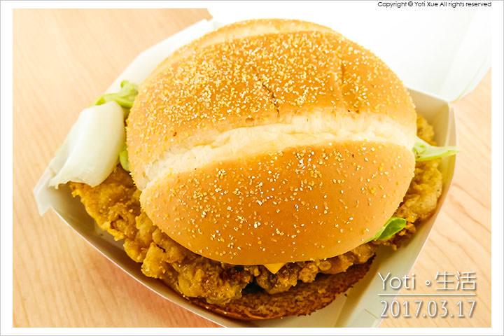 麥當勞-美式BBQ雞腿堡