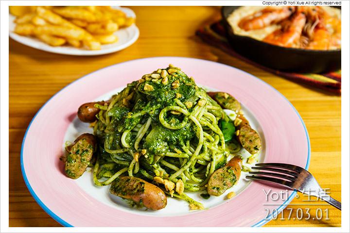 花蓮市區-自在煮義義大利麵