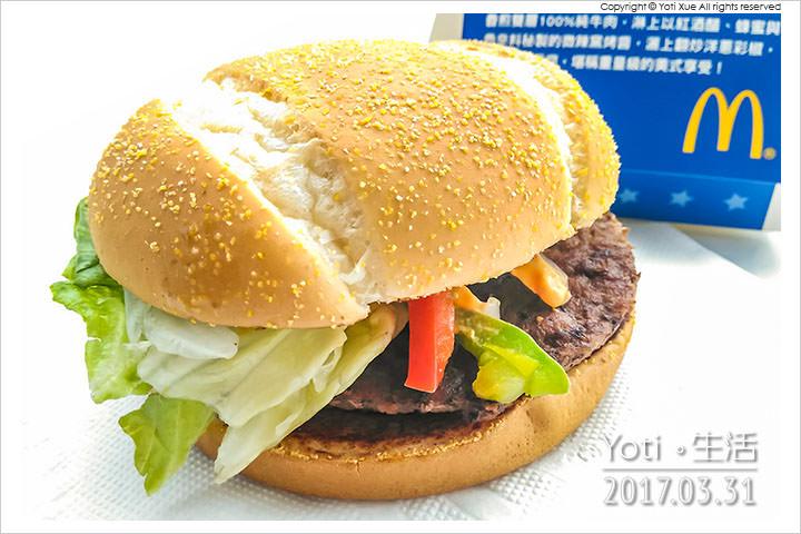 麥當勞-美式窯烤雙牛堡