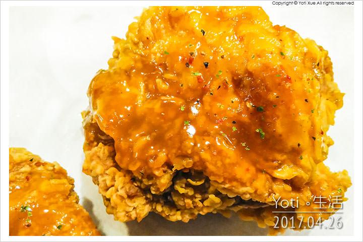 肯德基-柚香柚甜風味炸雞