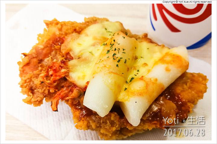 肯德基-CHIZZA 韓式Q辣披薩雞腿排
