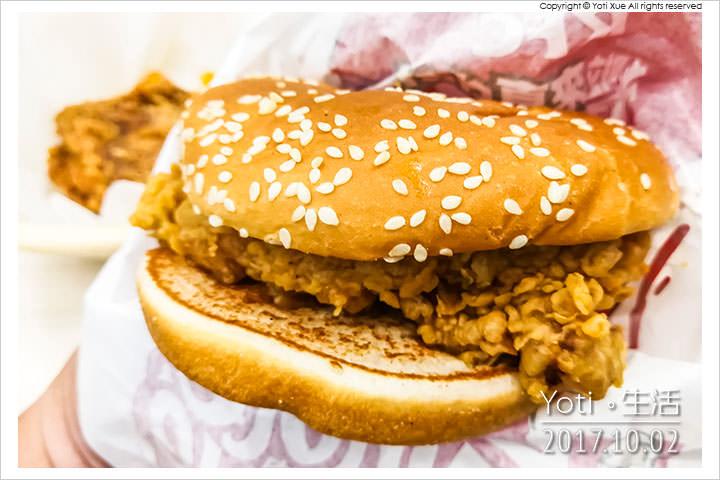 肯德基-上校經典脆雞堡
