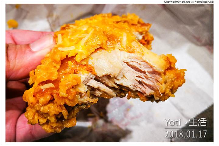 肯德基-金厚香濃起司雞