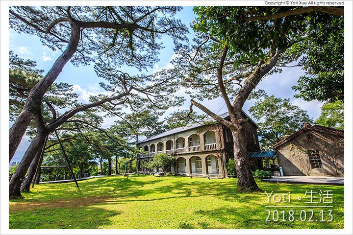 [花蓮市區] 松園別館 | 百年松樹林立的文藝景點