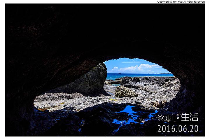[花蓮豐濱] 石門遊憩區 | 天然形成的 March 海蝕洞, 知名好萊塢電影取景點