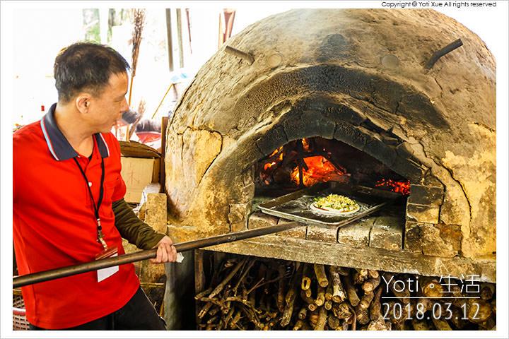 花蓮壽豐-鯉魚潭窯烤披薩