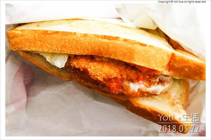 麥當勞-大方烤吐司-黃金豬排烤土司