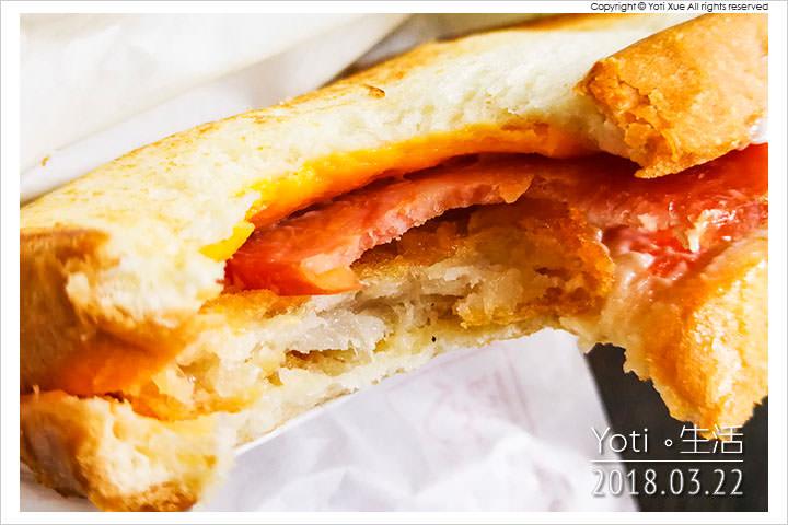 麥當勞-大方烤吐司-火腿薯餅烤土司