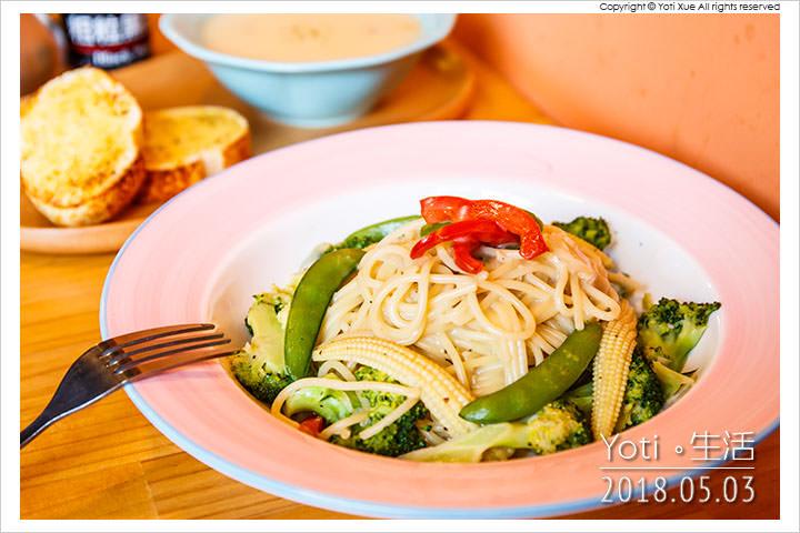 花蓮市區-自在煮義-義大利麵-燉飯