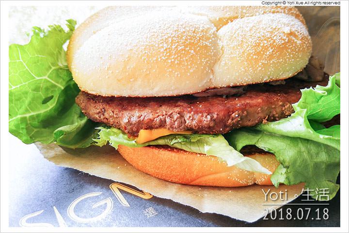 麥當勞-蕈菇安格斯牛肉堡