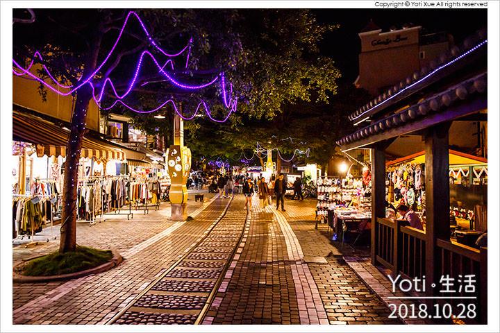 花蓮市區-舊鐵道行人徒步區-舊鐵道景觀商圈