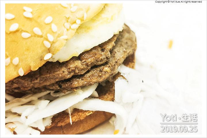 麥當勞-醬烤蛋煎雙牛堡