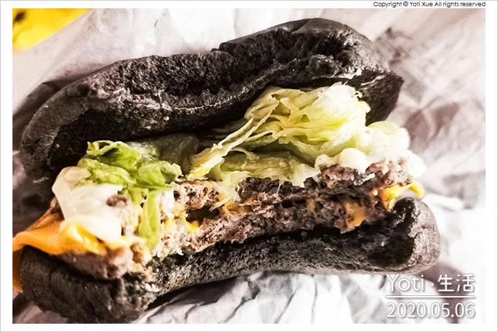 麥當勞-雙牛起司黑堡