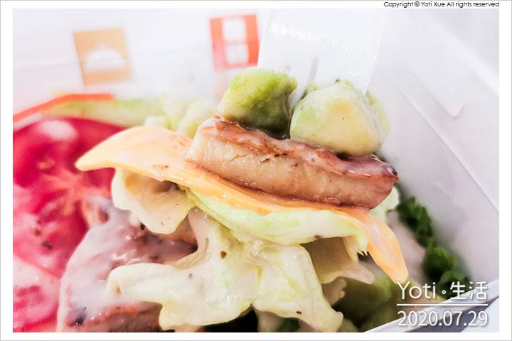 麥當勞-酪梨烤雞沙拉