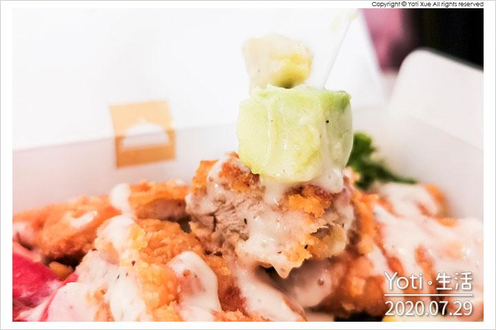 麥當勞-酪梨脆雞沙拉