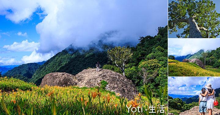 花蓮玉里-赤科山-千噸石龜-赤柯神木