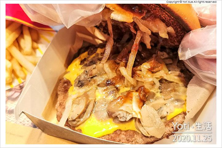 麥當勞-松露蕈菇安格斯黑牛堡