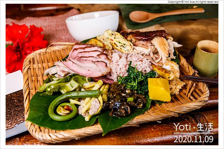 花蓮光復-太巴塱部落-紅糯米田野餐桌