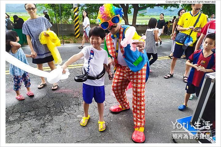 花蓮玉里-縱谷彩稻藝術季-豐收採稻園遊會 (06) 花蓮魔術師吉米 Jimmy