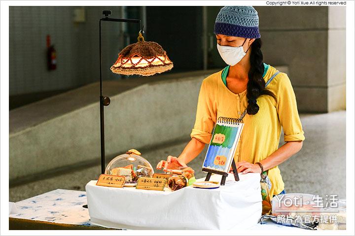 花蓮玉里-縱谷彩稻藝術季-豐收採稻園遊會 (13) 小白米蛋糕