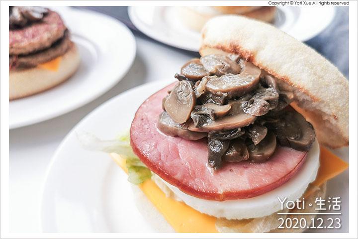 麥當勞-蕈菇滿福堡系列
