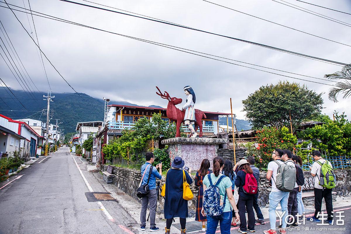 台東遊程-走趣東海岸住一晚-從木雕藝術村部落-彩虹村社區-稻香農遊單車行-探索不同風貌的台東兩日遊