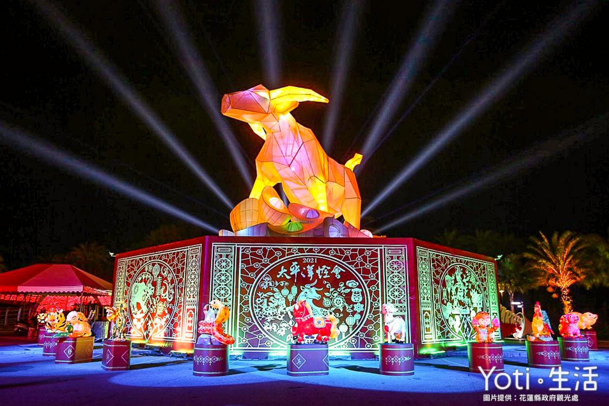 花蓮市區-花蓮太平洋燈會-太平洋公園展區