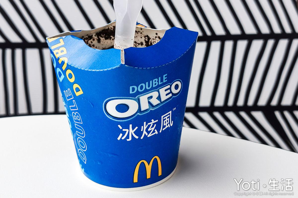 麥當勞-雙倍 OREO 冰炫風