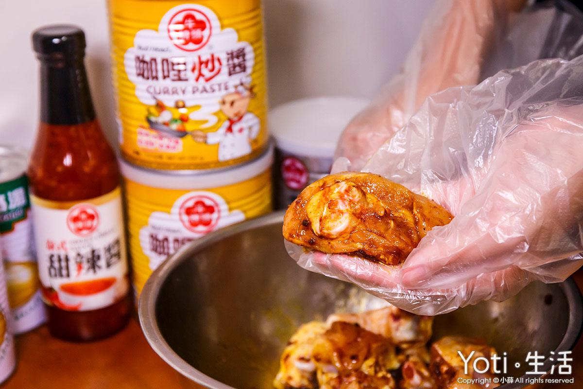 牛頭牌-中秋烤肉組合推薦清單-咖哩炒醬-咖哩烤雞腿